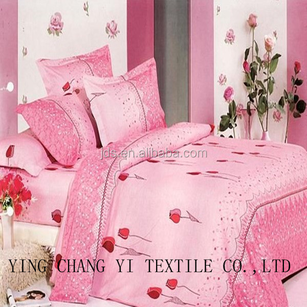 best sale cotton material printed fabric for bed sheet
