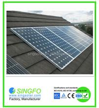 Easy installation 2kw solar off-grid system solar panel system