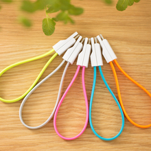 wholesale colored TPE mfi certified usb charging ceble for apple iphone