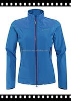 Hot sale! cheap woman softshell jacket 2015/ blue softshell jacket