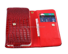 Top Quality Classic Luxury Crocodile Pattern Cell Phone Case For Apple iPhone 6 Plus,For LG G3 D858 D859 5.5inch Universal Cover