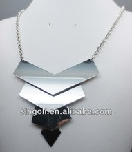 Occident style arrow head linked necklace hot sale alloy jewelry hand craft