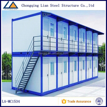 Blue Apartment Prefabricated Container Homes With cheap container prices