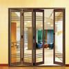 Factory price aluminum concertina folding door