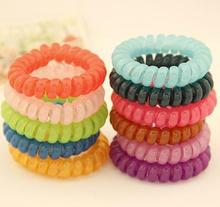 PC015 Wholesale hot sale mix colors telephone wire hair band