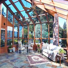 Latest french design glass winter garden