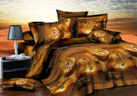 3D printing animal style home textile bed set/bed linen/bedding sheet