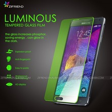 New arrival Luninous tempered Glass Screen Protector glow in the dark