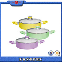 Small and exquisite mini casserole aluminum mini cooking pot