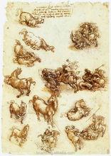 Top quality famous leonardo da vinci paintings ,reproduction oil painting