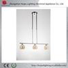 new design chrome color G9 broken glass chandelier lamp