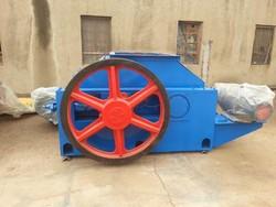 Large capacity and low price teeth roller coal crusher , coal making line