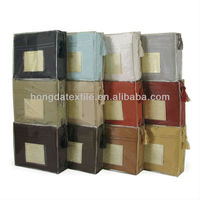 1500 Thread Count Egyptian Cotton Embroideried Bed Sheets Packaging