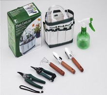 garden tools set 7pcs with tote