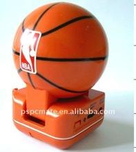 mini basketball shape speaker