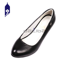 italian leather lady half shoes and bags to match women
