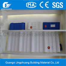 Alibaba PVC roofing sheet Heat resistant corrugated plastic roof
