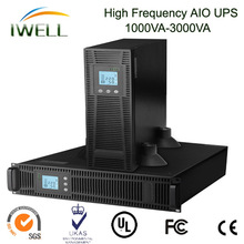 new produced rack-tower 2KVA online UPS with rotatable touch LCD screen