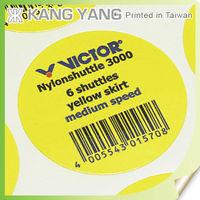 For Badminton Shuttles Round Vinyl Custom Stickers Logo