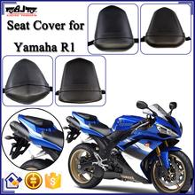 For Yamaha R1 Rear Passenger Seat Cushion Pillion Motorbike Leather Motorcycle Seat Cover