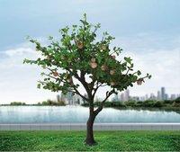 beautiful outdoor decorative apple led tree light,led apple tree,decorative tree
