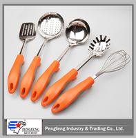TPR+PP plastic handle spaghetti spoon server