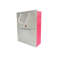 luxury China hot stamping paper bag with handle
