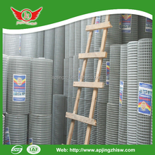 Hot Dip Galvanized Steel Fence 1 Inch Pvc Coated Welded Wire Mesh 4X4 Galvanized Steel Wire Mesh Panels