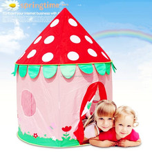 Princess play pop up castle tent for kids
