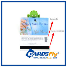 High quality Credit Card Size cr80 cash gift cards