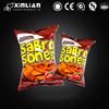 Food grade Heat seal back sealed aluminum plastic potato chips packaging bags