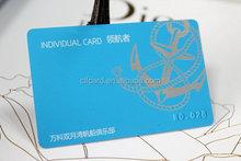 Branded best sell printable non standard pvc plastic card
