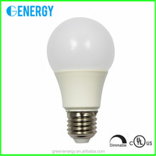 UL&Energy star dimmable A19/A60 9w led light bulb E27/E26 base 820lm Ra80 imports from china