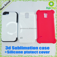 Factory supplier blank sublimation cell phone cover for Iphone 4/4s 5/6