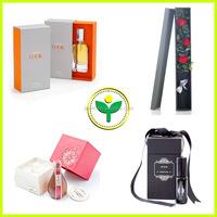 custom high quality pape perfume packaging gift storage box