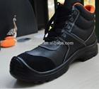 gênero e biqueira de aço, resistência de óleo, biqueira de aço característica resistente a óleo sola de botas de segurança