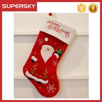 V-279 Fashion merry christmas socks christmas hanging ornaments baby christmas decoration
