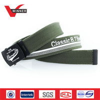 Militory Men Printed Canvas Web Belts