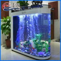 Wholesale Floor Type Acrylic Low Price Bullet Fish Aquarium Tank
