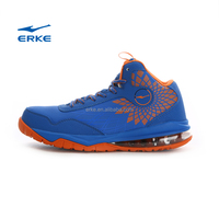 ERKE 2015 high quality mens basketball shoes professional athletic sports shoes rubber outsole for wholesale