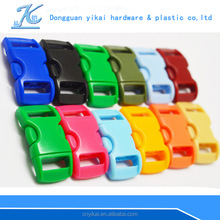 big promotion 10mm curved buckle,plastic curved dog collar buckle for dogs