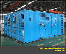 Reliable manufacturer 2000kw diesel generator with MTU engine brand