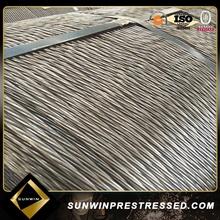 Sunwin Galvanize 15.2 mm fio de aço da China
