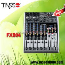China digital studio mixer soundcraft 8 channel professional audio mixers console