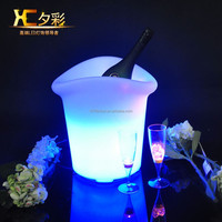 Plastic Portable Ice Cooler Bar Champagne Bucket Wedding Party Beer Wine Holder
