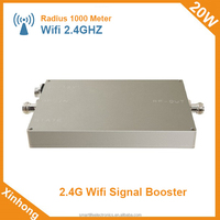 Receiving Gain 20dB Transmission Gain 17dB 20W 43 dbm 2.4g wifi range booster for outdoor