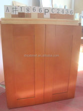 Good quality professional kitchen wooden box cabinet