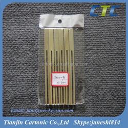 13.5CM Green Skin Bamboo Fruit Forks/Cocktail Forks