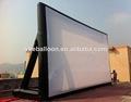al aire libre de gran pantalla de cine inflable proveedor