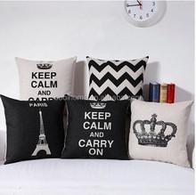 Cotton Linen Square Throw Pillow Case Decorative Cushion Cover Pillowcase